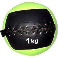 Wall Ball 1Kg Medicine Ball Crossfit Treino Funcional Wct Fitness - Unissex