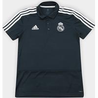 3d6011e0ae50e Netshoes  Camisa Polo Real Madrid Adidas Masculina - Masculino