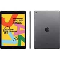 Ipad 7ª Geração Apple Cinza Com Tela 10,2, Wi-Fi, Ipados, Processador A10 Fusion E 128Gb