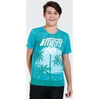 Camiseta Juvenil Estampa Coqueiro Marisa