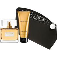 Kit Perfume Givenchy Dahlia Divin Eau De Parfum + Loção Corporal + Nécessaire