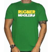 Camiseta Sulback Rugbier Brasileiro - Masculino