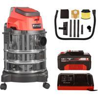 Aspirador De Pó E Líquido + 1 Bateria + Carregador Einhell