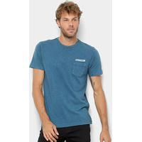Camiseta Volcom Rebel Radio - Masculina - Masculino-Azul