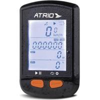 Gps Steel Bluetooth Com Sensor De Cadência Atrio - Unissex-Preto