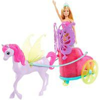 Boneca Barbie Princesa Com Carruagem