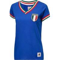 Camisa Itália Retrô Feminina - Feminino