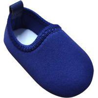 Sapatinho Para Bebê Tico'S Baby Calce Fácil Azul
