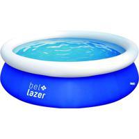 Piscina Inflável Redonda Bel Lazer Azul 2500L