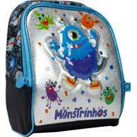 Lancheira Monstrinhos Ft7116L Azul