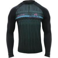 Camisa Ciclismo Elite Di Lorenzo Manga Longa Masc - Masculino