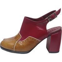 Sapato Thádiva Ilhéus Vermelho