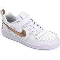 Tênis Couro Infantil Nike Court Borough Low Ep Psv Feminino - Feminino