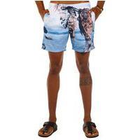 Shorts Docthos Estampa Exclusiva Paisagem Agua Concept Shorts Docthos Estampa Exclusiva Paisagem Agua Concept 057 Azul Claro M