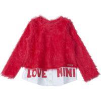 Blusa Fluffly Vermelho