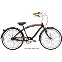 Bicicleta Nirve Forty Nine - Aro 26 - 3 Marchas Preto