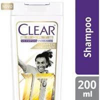 Shampoo Anticaspa Women Clear Sports 200Ml - Feminino-Incolor