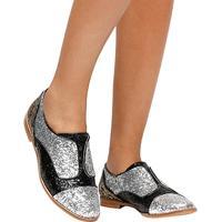 Oxford Shoestock Glitter - Feminino