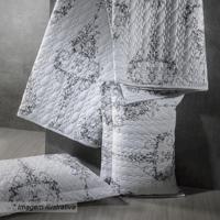 Conjunto De Cobre-Leito Atlântida Queen Size - Branco & Sultan