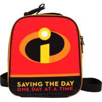 Lancheira Térmica Disney Os Incríveis Saving The Day Preto