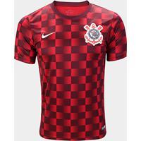 Netshoes  Camisa Corinthians Pré Jogo 19 20 Nike Masculina - Masculino de0c5b0a26ab1