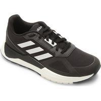 6e47b4f3d28 Território da Moda  Tênis Adidas Run 80 S Masculino - Masculino-Preto+Branco