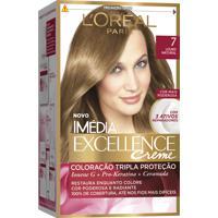 Coloração Imédia Excellence Creme N°7 Louro Natural L'Oréal 47G