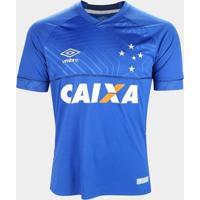 Camisa Cruzeiro I 18/19 S/N° C/ Patrocínio - Torcedor Umbro Masculina - Masculino