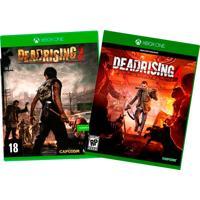 Combo Xbox One Dead Rising Com 2 Jogos - Jogos Dead Rising 3 + Dead Rising 4