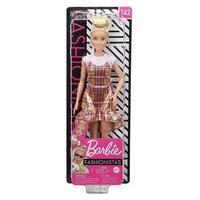 Barbie Fashionista - Vestido Quadriculado Fbr37