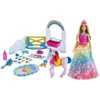 Barbie Dreamtopia Playset Arco Íris Com Unicórnio - Mattel