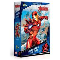 Quebra-Cabeça Homem De Ferro Vingadores 200 Peças - Toyster