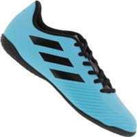 Chuteira Futsal Adidas Artilheira Iii Ic - Adulto - Azul/Preto