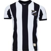 Camisa Do Abc-Rn 1983 Retrômania - Masculina - Preto/Branco