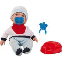Boneco Bebezinho Real Xixi Com Acessórios - Unissex-Incolor