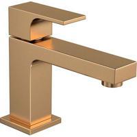 Torneira Para Banheiro Mesa Unic Gold Matte Bica Baixa 1197.Gl90.Mt - Deca - Deca