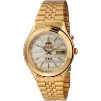 Relógio Orient Unissex Automático Em03A0-C1Kx - Unissex-Dourado