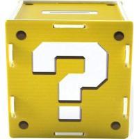 Cofre Interrogação Amarelo Geek10 - Amarelo
