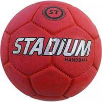 Bola Stadium Handebol H3 - Unissex-Vermelho