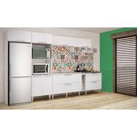 Cozinha Modulada Completa Com 8 Módulos Branco - Art In Móveis