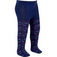 f74102a82 Meia-Calça Infantil Duck - Azul