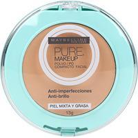 Pó Compacto Maybelline Pure Make Up Cor Dourado - Feminino