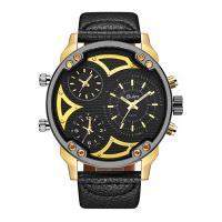 Relógio Masculino Oulm-Hp3548A Analógico - Dourado E Preto