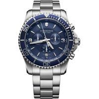 Relógio Victorinox Swiss Army Masculino Aço - 241689