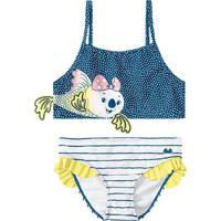 Biquini Lilica Ripilica Infantil 801043560001 Azul