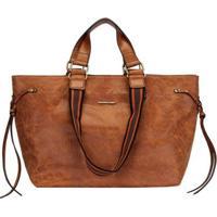 Bolsa Mormaii Shopping Bag Básica Feminina - Feminino-Caramelo