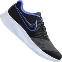 Tênis Nike Star Runner 2 Glitter Gs - Infantil - Preto/Azul