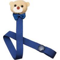Prendedor De Chupetas Mr. Bear - Roana Pch00058008 Porta Chupeta Urso Marinho