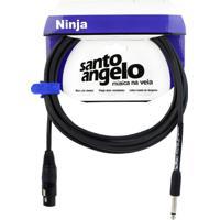Cabo De Microfone Ligação Desbalanceada Ninja Hg P10 X Xlr Fêmea 10.