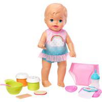 Boneca Bebê - Little Mommy - Faz Xixi Deluxe - Ves - Unissex-Incolor